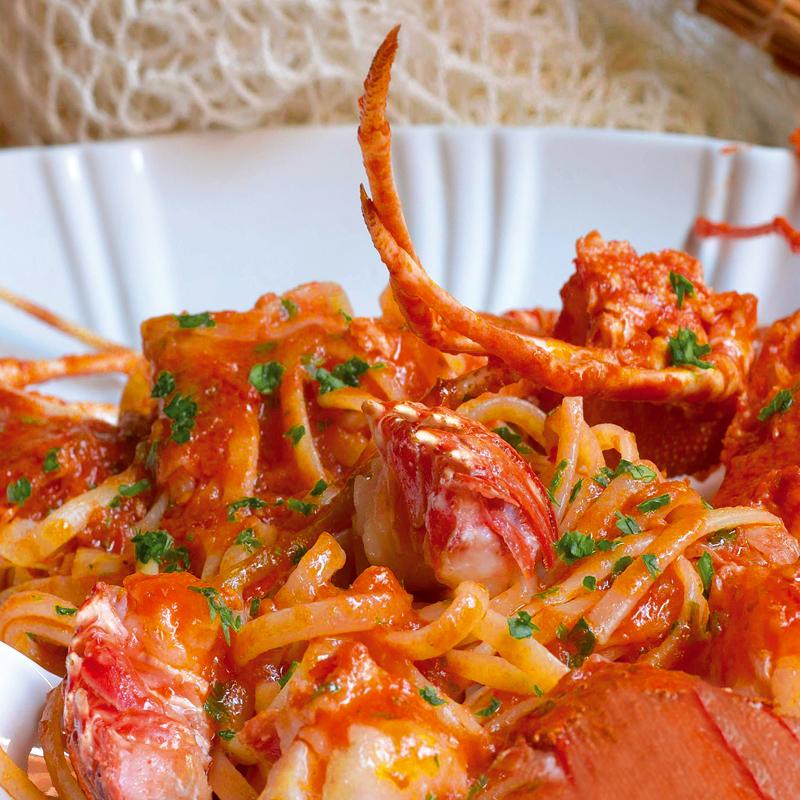 Ricette pasta con l'aragosta